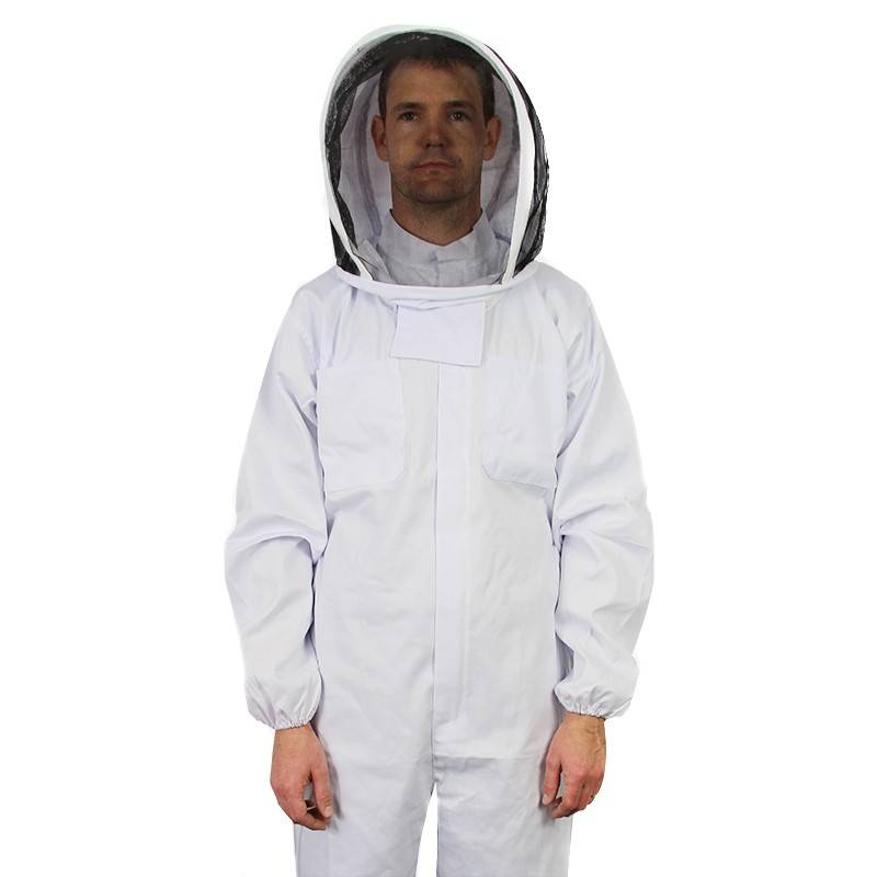 Hooded Bee Suit - Overall Cotton Beekeeper Suit