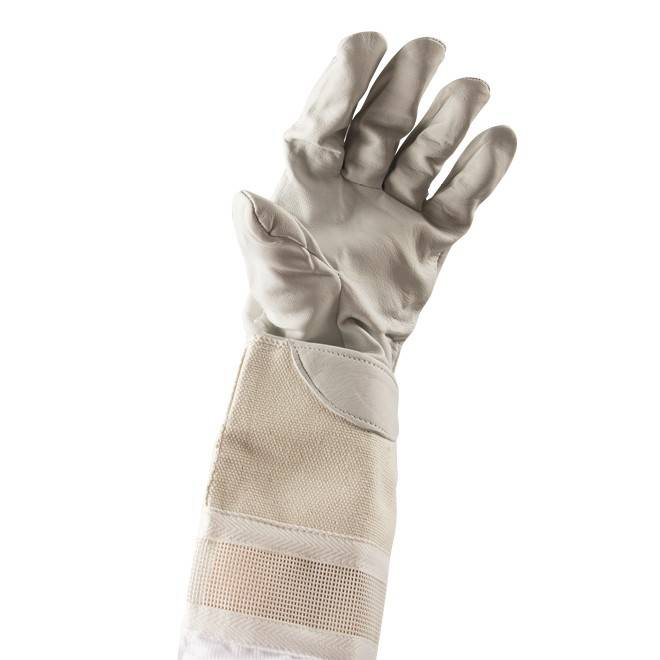 Beekeeper Gloves Ventilated - Leather and Cotton