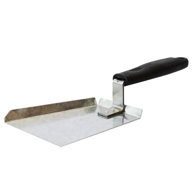 pollen shovel - galvanised steel with a plastic handle