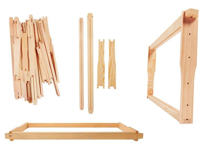 Beekeeping Bee Frames flat pack