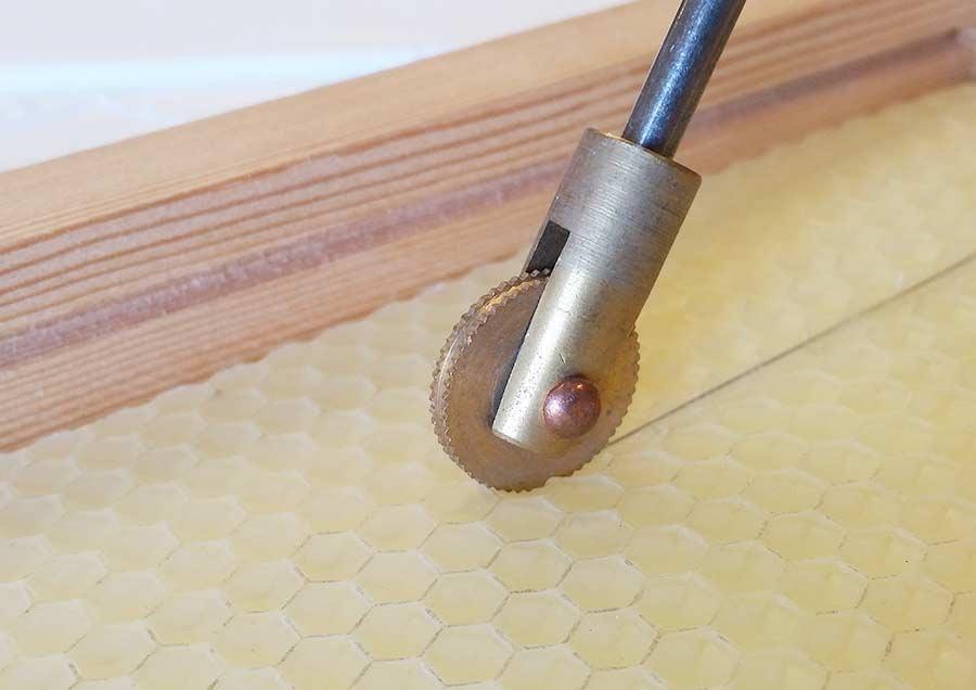 Brass Wire Spur Wheel Embedder