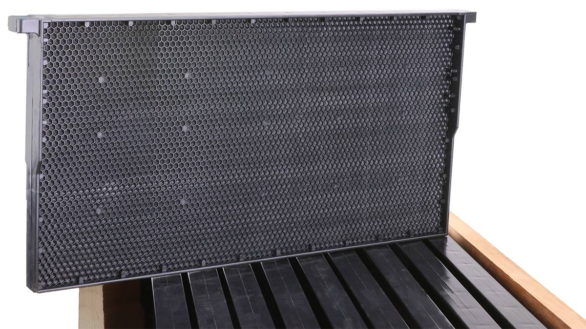 Plastic Frame and Foundation Full Depth Plastic Beehive Frames.  1pc Plastic Bee Hive Frames