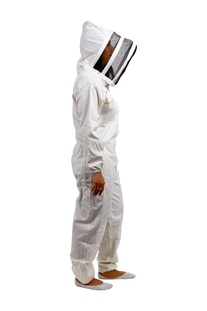 Premium Hood Beesuit with YKK Zips and Carry Bag