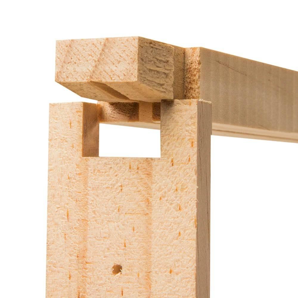 Alliance Full Depth Beehive Frames - 13mm Grooved Bottom Bar