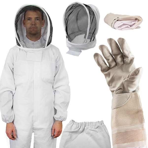 13 in 1 Deluxe Beekeeping Apiarist Kit - 8 Frame