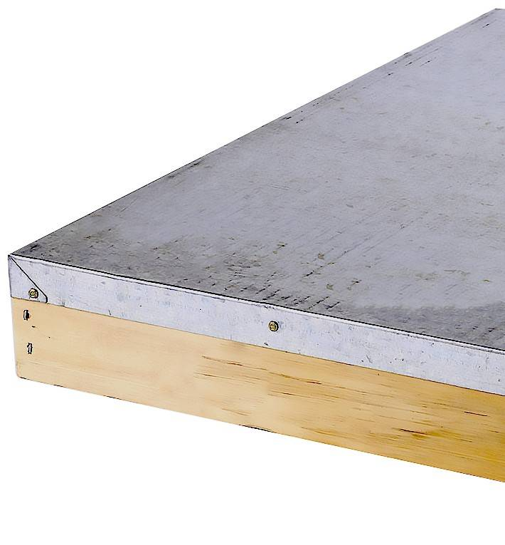 Beehive Lid - Assembled 10 Frame
