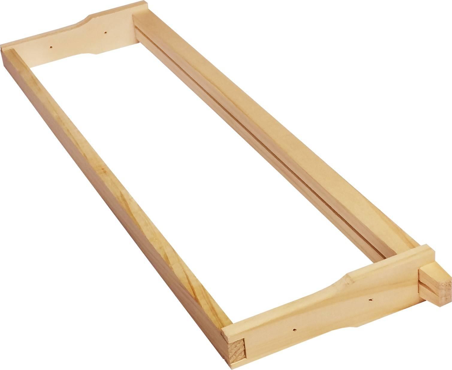 Alliance Ideal Depth Frames 1,000 Pack - 10mm Plain Bottom Bar