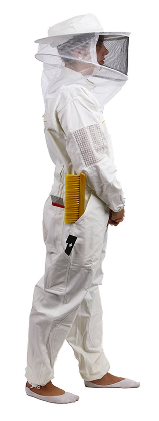 Premium Wide Brim Beesuit with YKK Zips and Canvas Carry Bag
