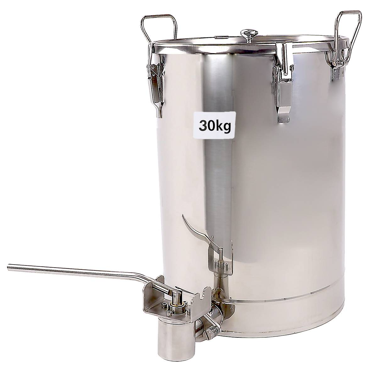 Manual Stainless Steel Bottle Filler and Deluxe 30kg Storage tank