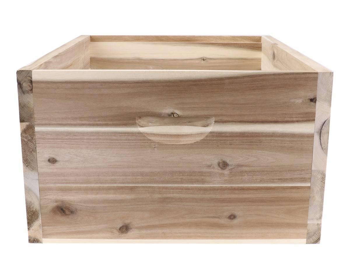 Full Depth 8 Frame acacia Hardwood Supers -EASY ASSEMBLE - Whitehouse Beekeeping