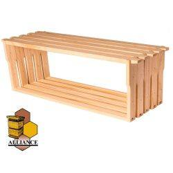 Alliance Ideal Depth Frames 1,000 Pack - 10mm Plain Bottom Bar