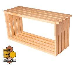 Alliance Full Depth Beehive Frames - 10mm Plain Bottom Bar