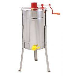 2 Frame Manual Honey Extractor with Stainless Basket