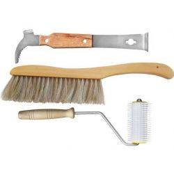 Premium Beekeeping Tool Pack, 3pc