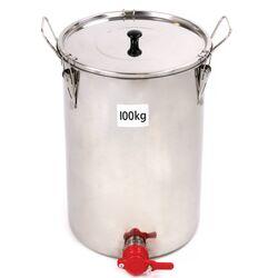 Honey Storage Tank 100 kg - Nylon gate