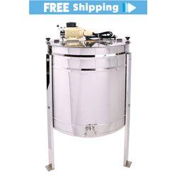 2020 - 4 Frame Fully Reversible Electric Honey Extractor - PREMIUM GRADE