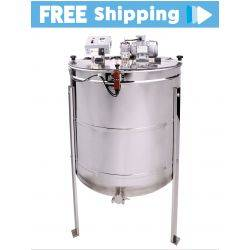 2020 - 4 Frame Fully Reversible Premium Electric Honey Extractor - with CONTROLLER