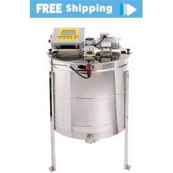 9 Frame Radial Premium Honey Electric Extractor with Full Program Controller
