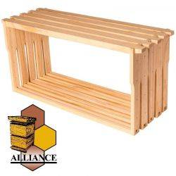 Alliance Full Depth Frames 100 Pack - 13mm Grooved Bottom Bar