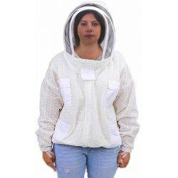 Full YKK Zips Premium Fully Ventilated Bee Keeping Jacket- Upgraded Ventilated Bee keeping Jacket