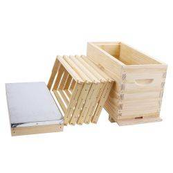 Assembled Timber Nuc with 5 Frames