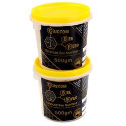 Custom Bee Feed - 1kg (2 x 500g Buckets)