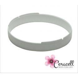 Ceracell Round Comb Rings - White