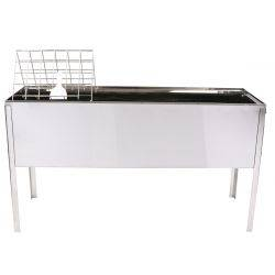 Uncapping Station, Deluxe Stainless Steel - 1.5 Metre