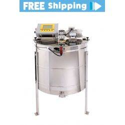 2021 - 6 Frame Premium Electric Honey Extractor With FULL Controller