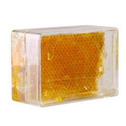 500g Honey Comb Container.  Clear Honey Comb Box for Australian Honey Comb.