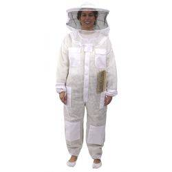 Fully Ventilated Round Hat Bee Suit