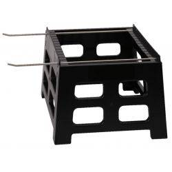 Beehive Stand with Stainless Frame Perch – 8 Frame