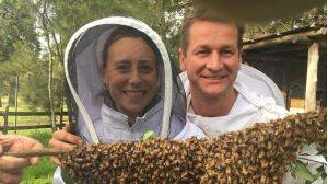 Ana and Sven Martin's campaign to save bees launched on the mid north coast